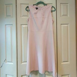 Talbots Blush Pink Ponte Knit Dress
